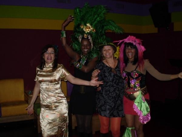 Mis amigas de Lisboa en Carnaval